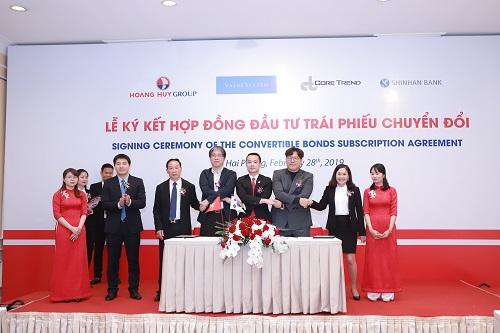 Tập đoàn Hoàng Huy được đối tác Hàn Quốc rót 1.200 tỷ đồng
