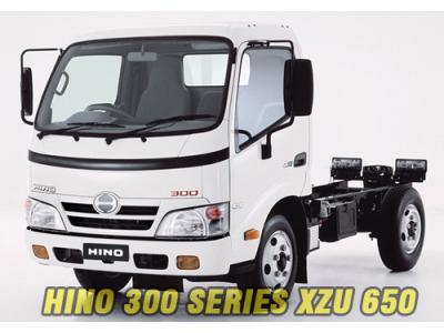 HINO 300 SERIES XZU 650