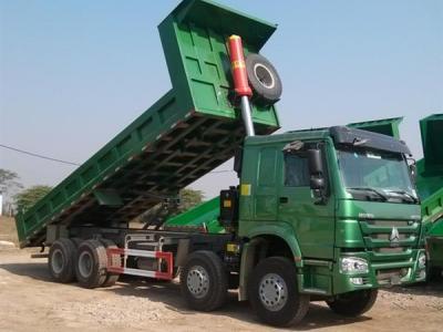 Xe tải ben howo 4 chân thùng 7.8m ( 8x4 ) 371HP