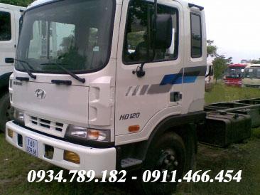 Xe tải Hyundai 5 tấn HD120