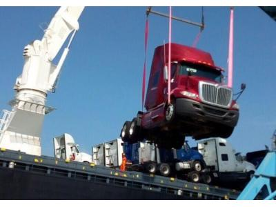 Đầu kéo Mỹ 2014 model 2015 đã cập cảng .